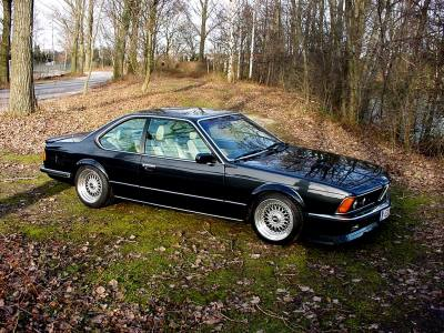 BMW e24 shark nose 635csi
