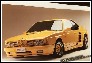 BMW e24 , 6 series, gemballa, widebody