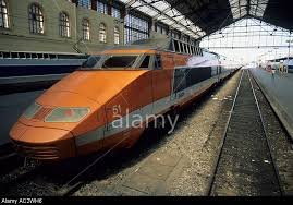 Orange original TGV