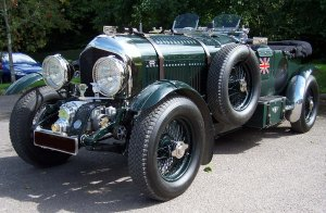 Bentley 4.5 litre, blower, brg