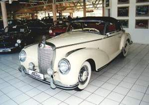 Mercedes roadster 300s