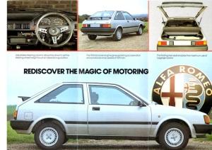 Alfa Romeo Arna sales brochure