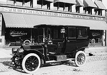 1908 Studebaker Limousine