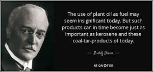 Rudolf Diesel, photo and quote