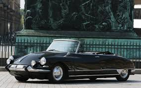 Black Citroen DS Decapotable Henri Chapron