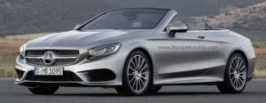 Silver Mercedes Benz S-Class Coupe