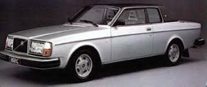 Silver Volvo 262 coupe