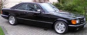 Mercedes W126 coupe 560 SEC
