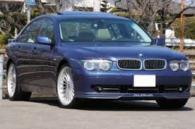 Blue 7 series BMW E65
