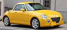 Yellow Daihatsu Copen