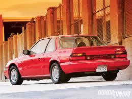 Red mark 2 Honda Prelude
