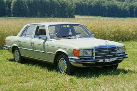 Green w116 Mercedes