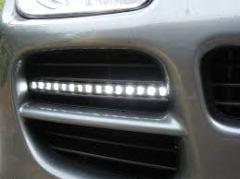 Daytime running lights Porsche Cayenne