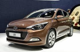 Brown Hyundai i20