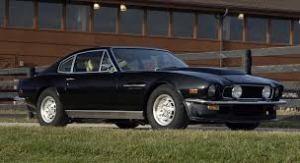 Black Aston Martin V8