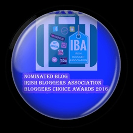 Irish Bloggers association nominee