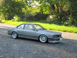 Silver BMW M635CSi