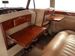 Cream Connolly leather interior 1966 Bentley S3