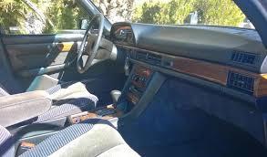 Blue velour interior Mercedes Benz 500 SEL
