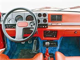 Interior of Renault 5 Turbo