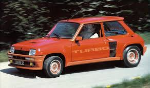 Red Renault 5 Turbo
