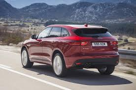 Red Jaguar F-Pace