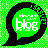 "Very happy to be nominated for Best Lifestyle Blog and Best Blog Post for Bond's ""Bolides"""