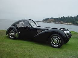 Black Bugatti Atlantic