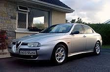Silver Alfa Romeo 156