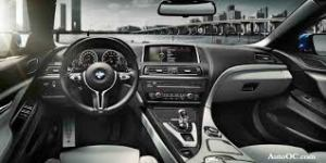 Six series BMW interior
