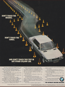 BMW E28 5 series ad
