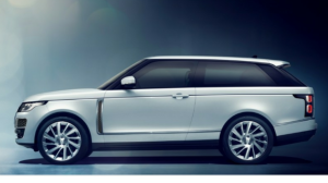 White Range Rover coupe